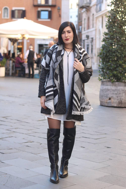 outfit-sciarpa-plaid-stivali-cuissardes-2
