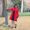 outfit caterina pervinca moda donna roma