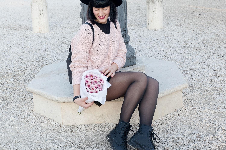 outfit-inverno-maglione-rosa-shein-1