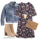 come indossare fantasia floreale outfit primavera