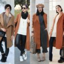 come indossare cappotto cammello outfit inverno