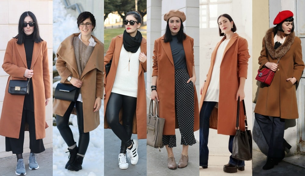 official photos b2db8 68021 Come indossare il cappotto cammello: i miei outfit
