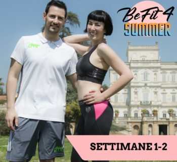 befit4summer guida fitness gratuita dimagrire tonificare
