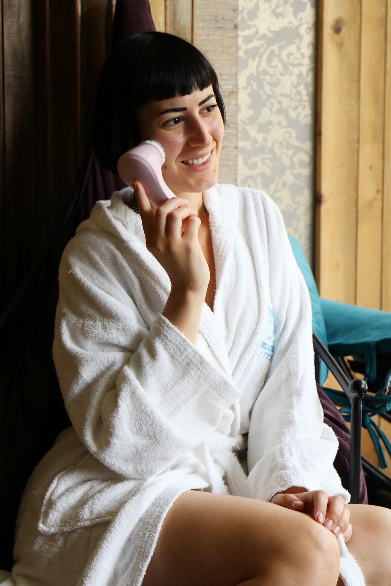 spazzola pulizia viso a ultrasuoni