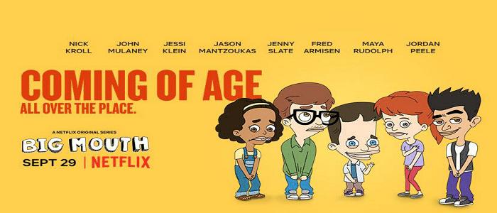 serie tv da vedere a ottobre su Netflix big mouth