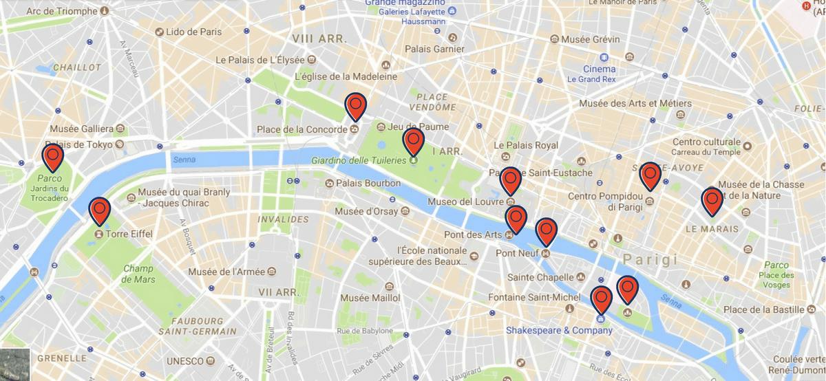 visitare parigi in un giorno itinerario