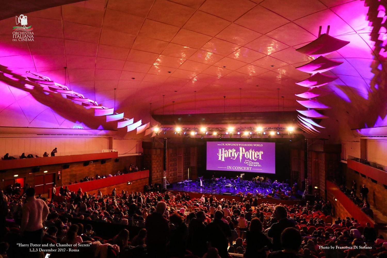 cine-concerto Harry Potter e la Camera dei Segreti