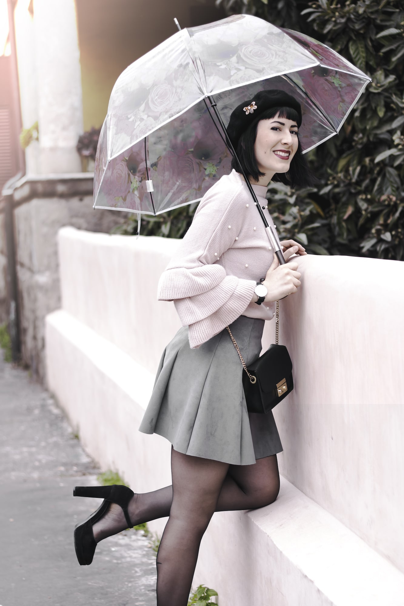 outfit invernale romantico