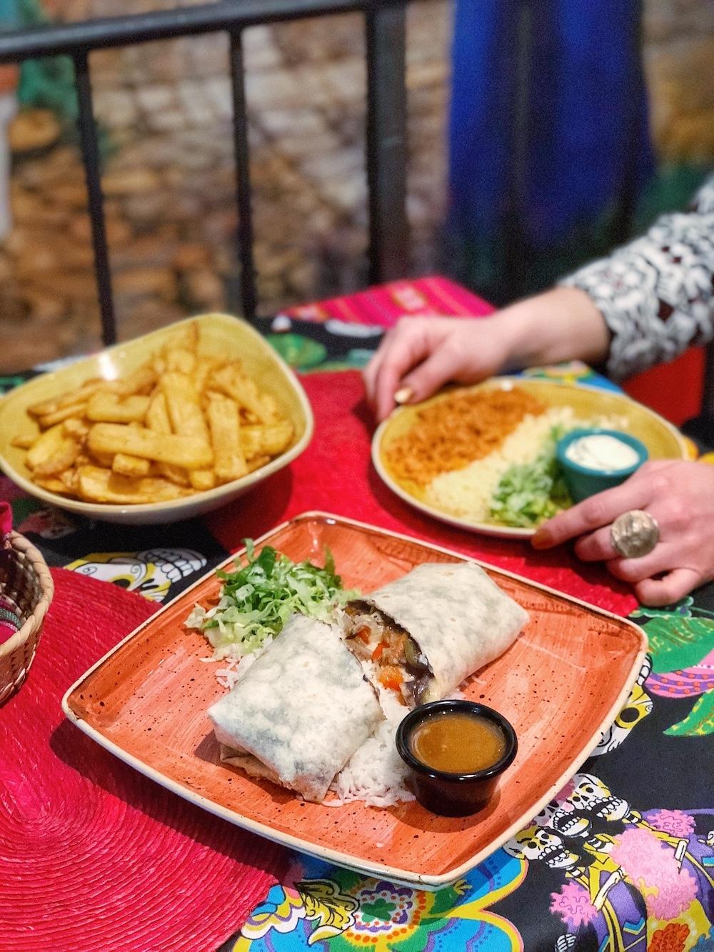 ristorante messicano a Roma la cucaracha