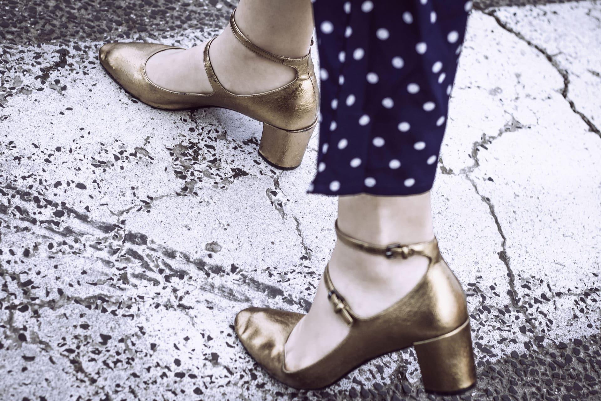 Tuta a pois come abbinarla per un outfit vintage inspired