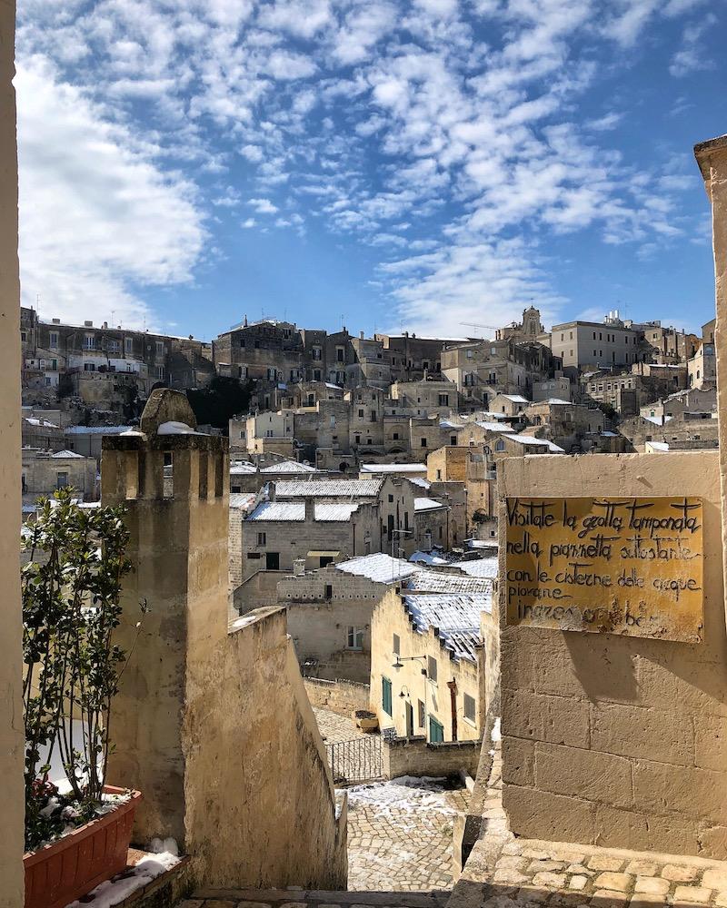 weekend a Matera itinerario di due giorni