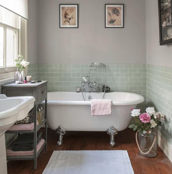Bagno in stile vintage idee arredamento per la casa - Arredamento casa vintage ...