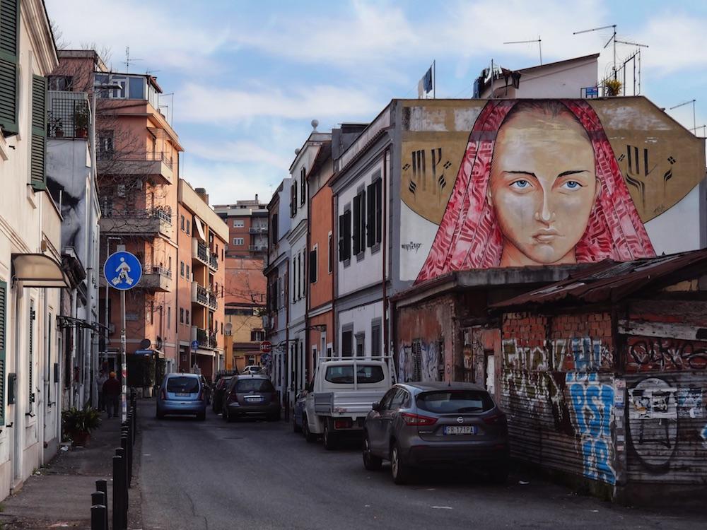 street art pigneto pasolini