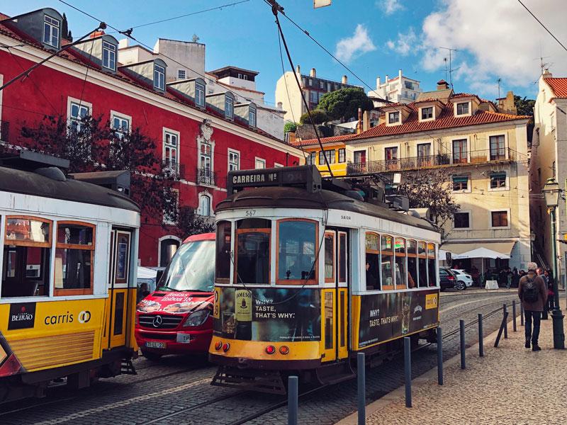 visitare Lisbona tram 28