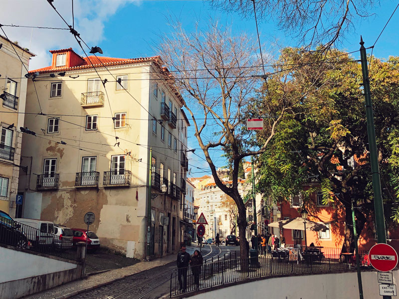 visitare Lisbona quartieri antichi