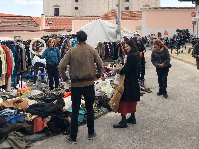 Cosa vedere a Lisbona feira da ladra