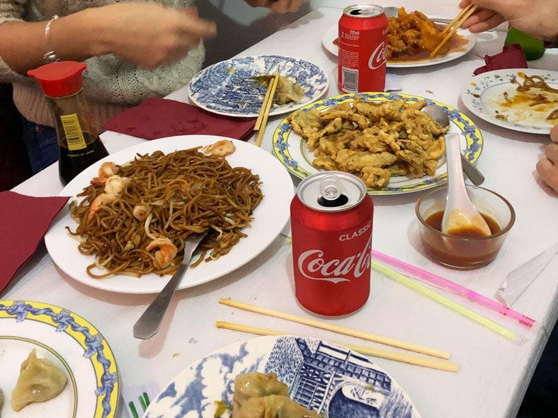 dove mangiare a Lisbona ristorante cinese illegale