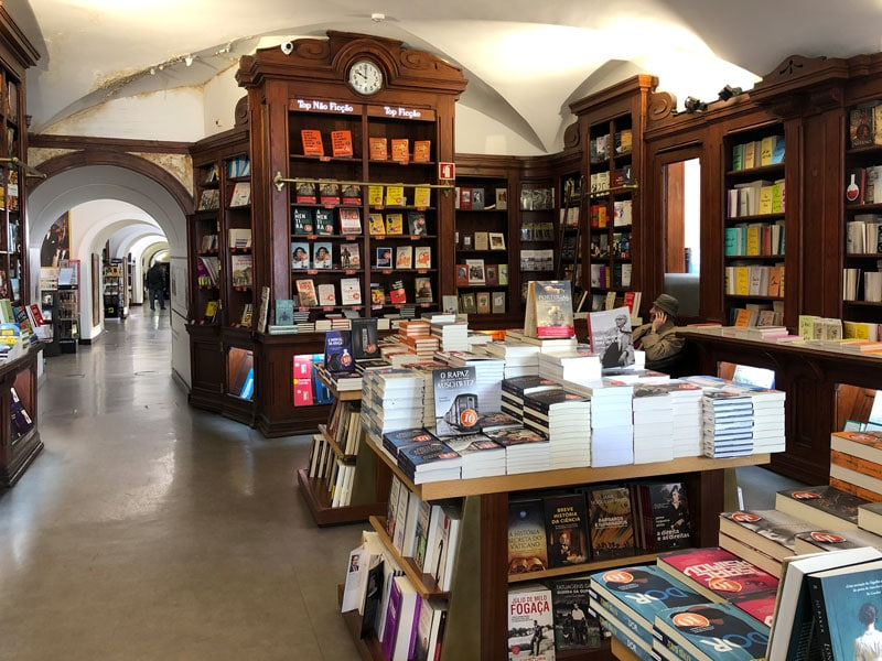 dove fare shopping a Lisbona Livraria Bertrand