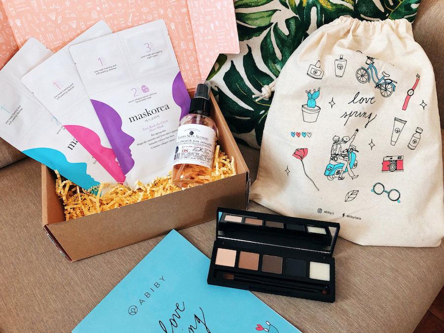 skincare coreana beauty box abiby