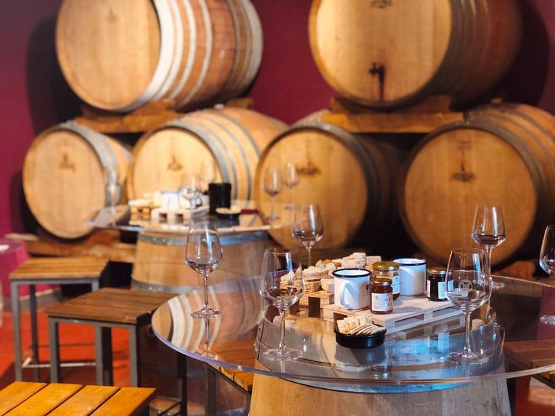 degustazione vini tenuta la paladina