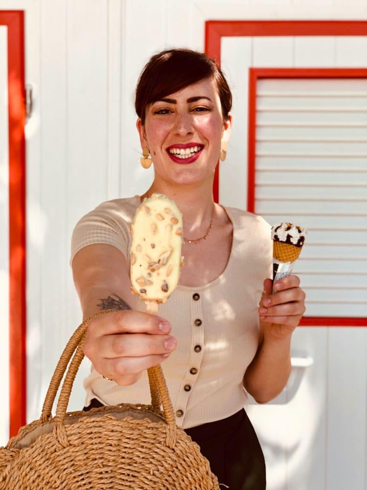 mangiare gelati confezionati
