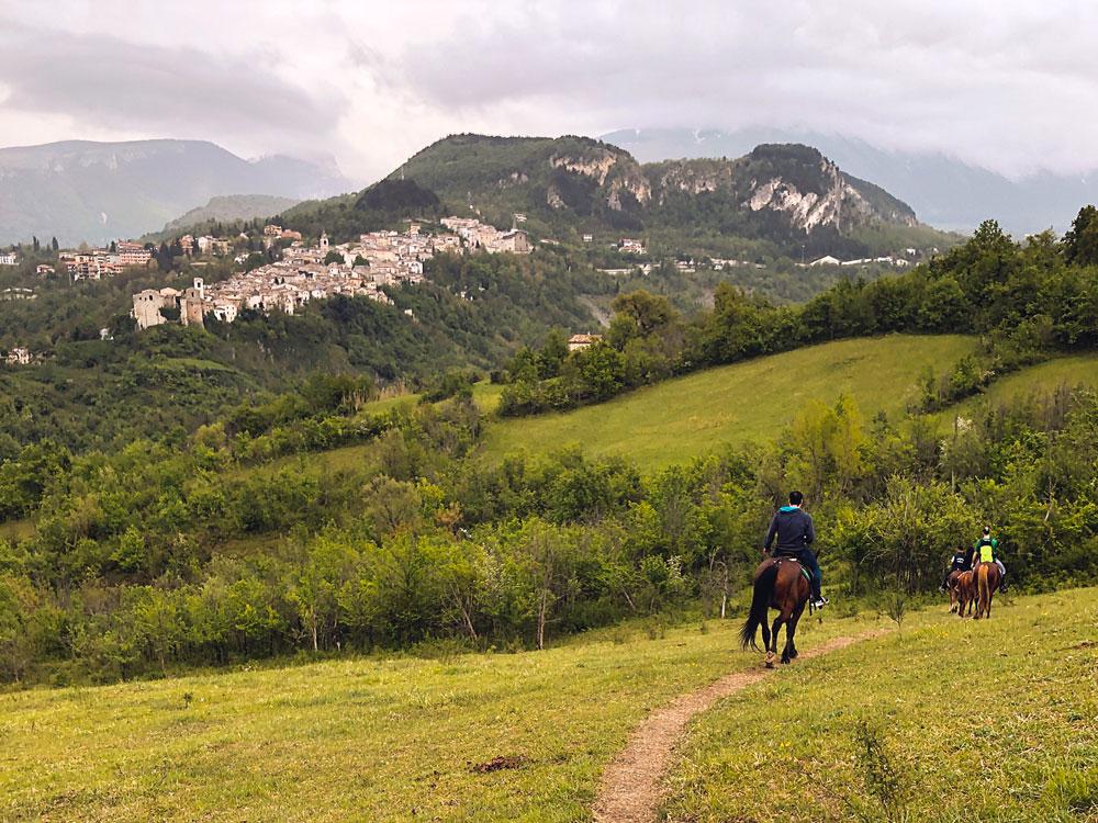 Trekking a cavallo Parco della Majella