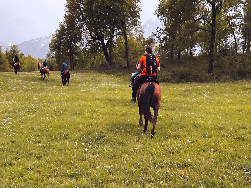 Trekking a cavallo Abruzzo