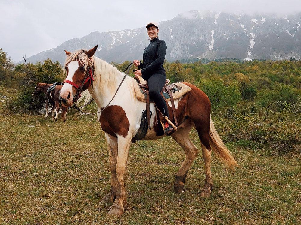 Passeggiata a cavallo Abruzzo