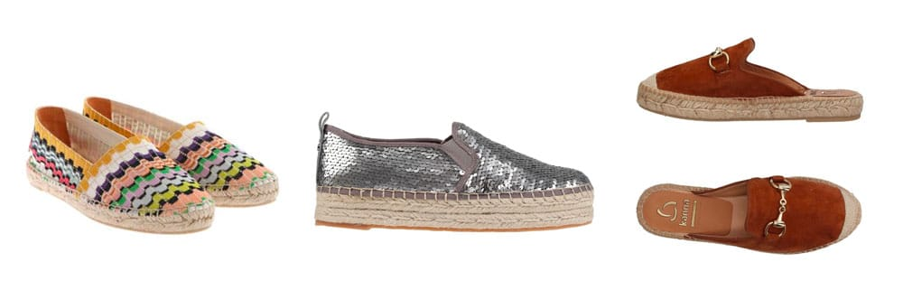 espadrillas Basse per l'estate 2019
