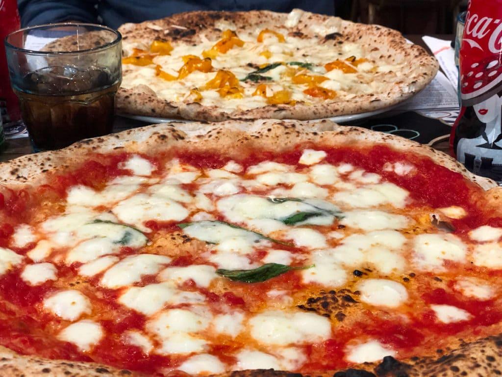 lievito madre pizza margherita sorbillo roma