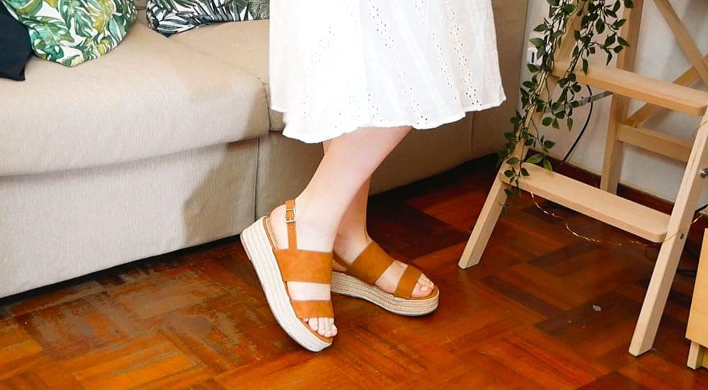 Shopping estivo su Shein sandali con tacco in corda