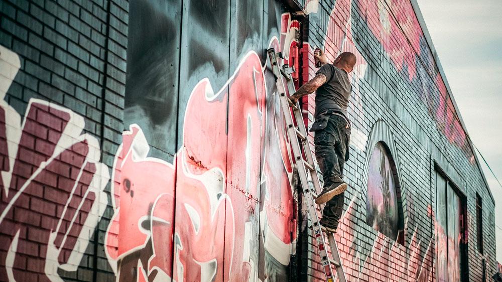 Banksy graffiti Street Art Londra