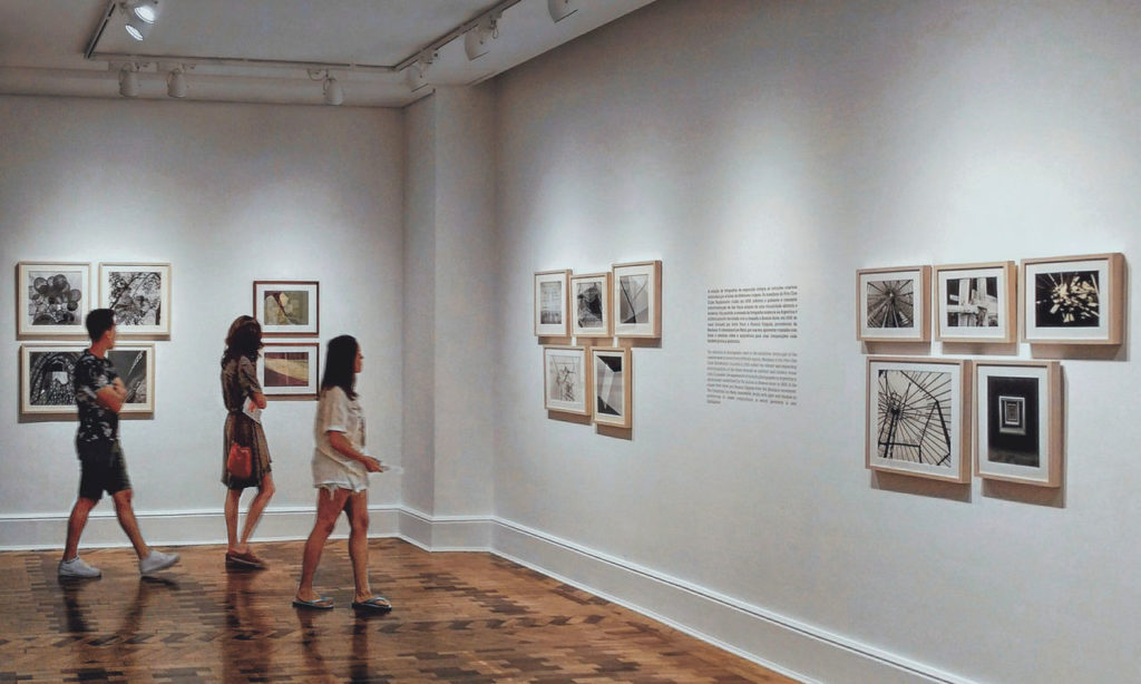 mostra in un museo