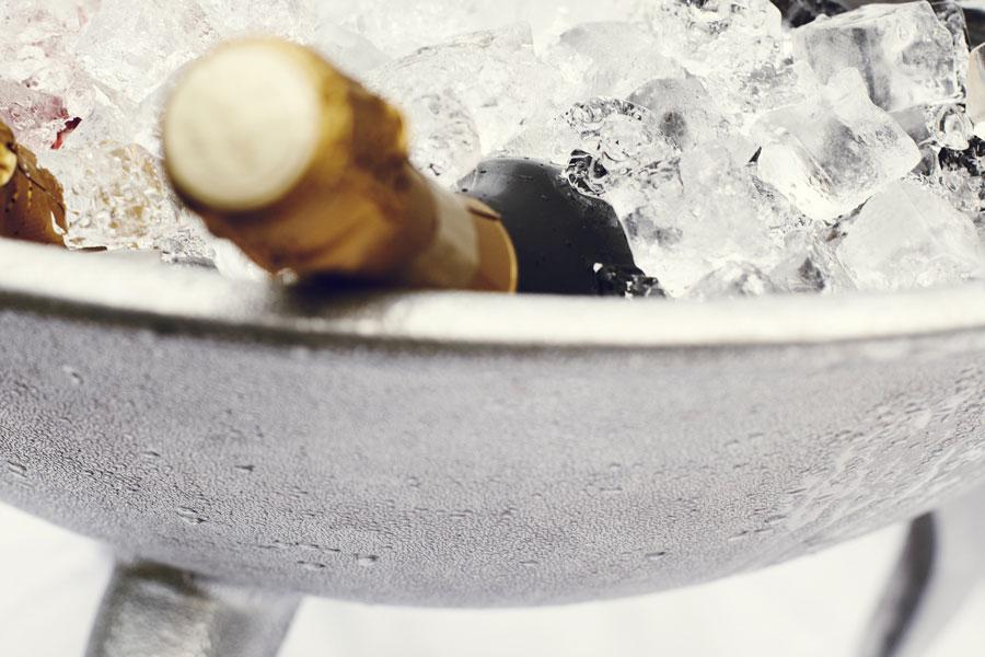 cestello di champagne Dom Pérignon