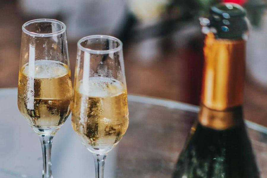 calici di champagne Dom Pérignon