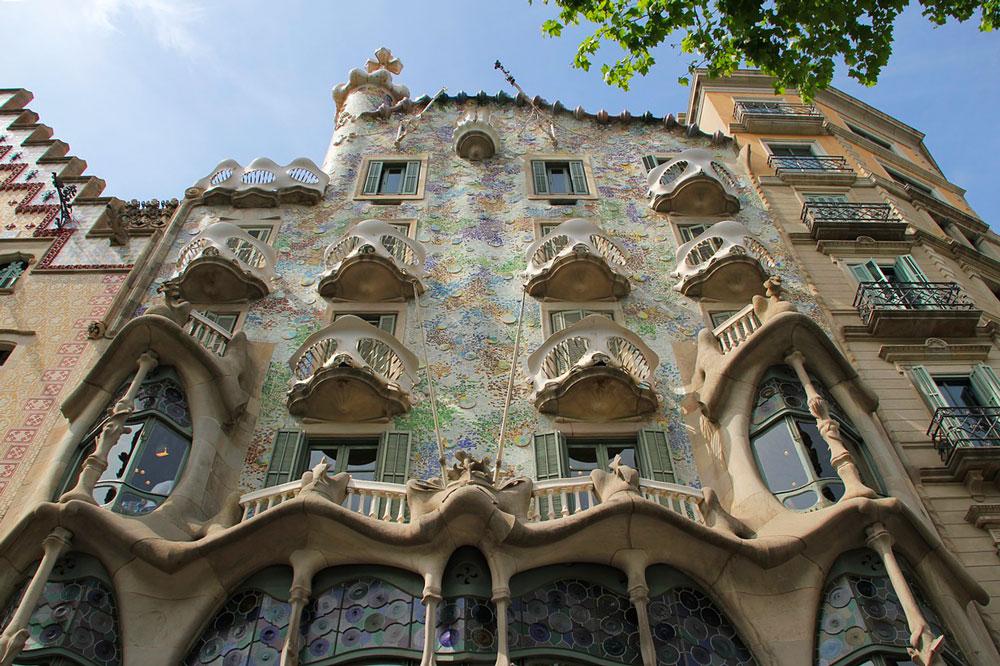 Casa Batlló facciata