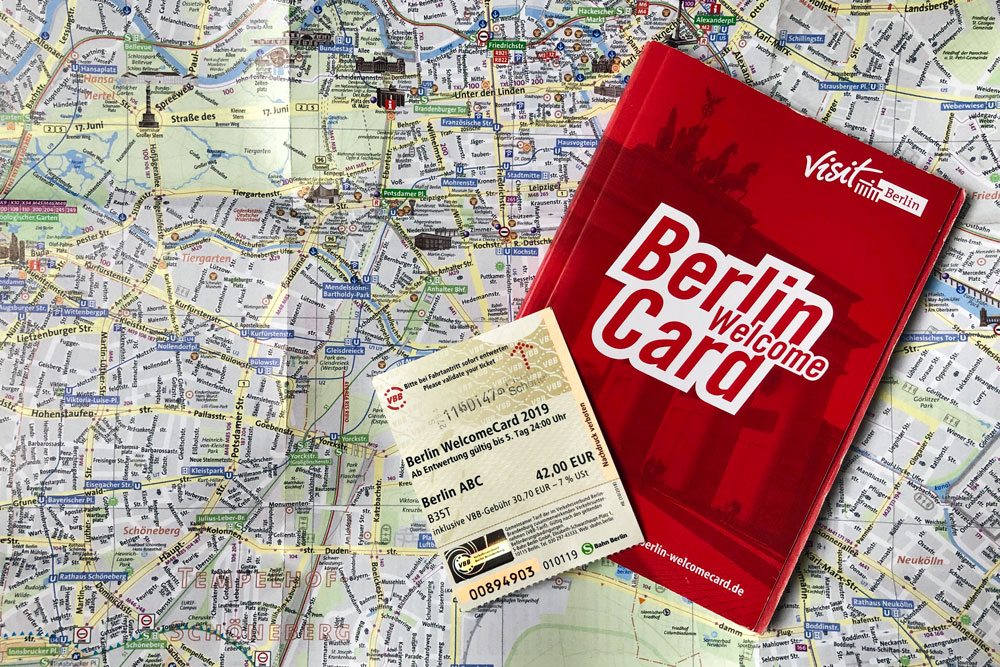 visitare Berlino con la Berlin Welcome Card