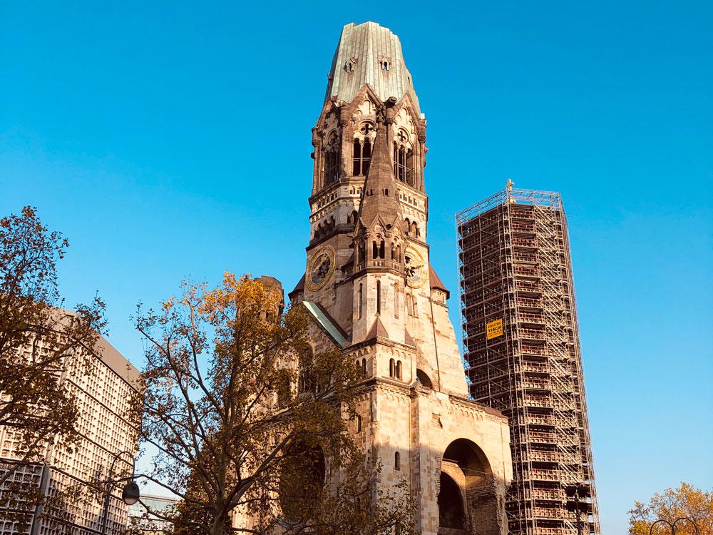 cosa vedere a Berlino Ovest chiesa bombardata