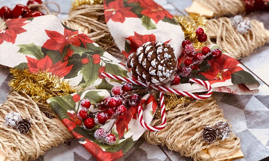regali di natale ecofriendly decorazioni diy