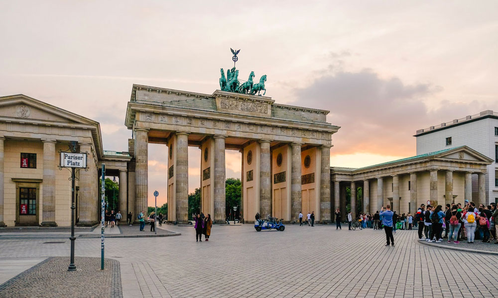 visitare Berlino porta di Brandeburgo