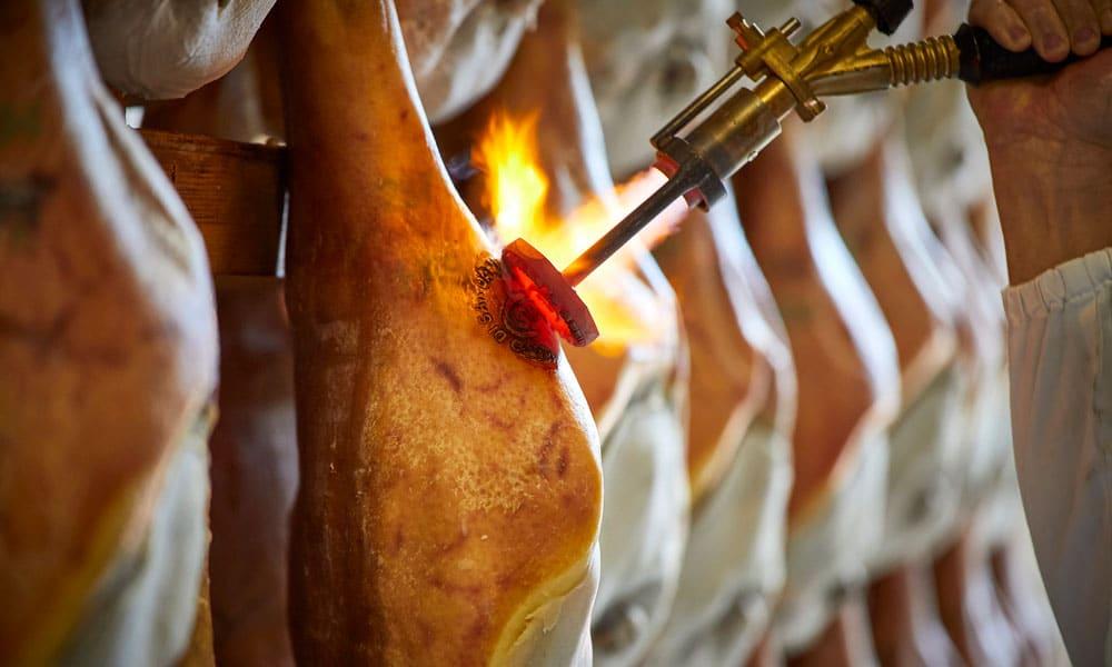 marchiatura Prosciutto di San Daniele