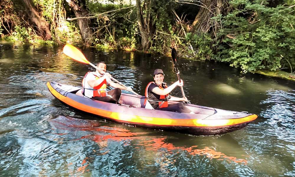 Canoa sul Tirino