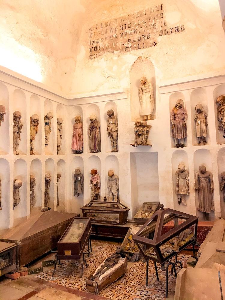 Catacombe dei frati cappuccini Palermo