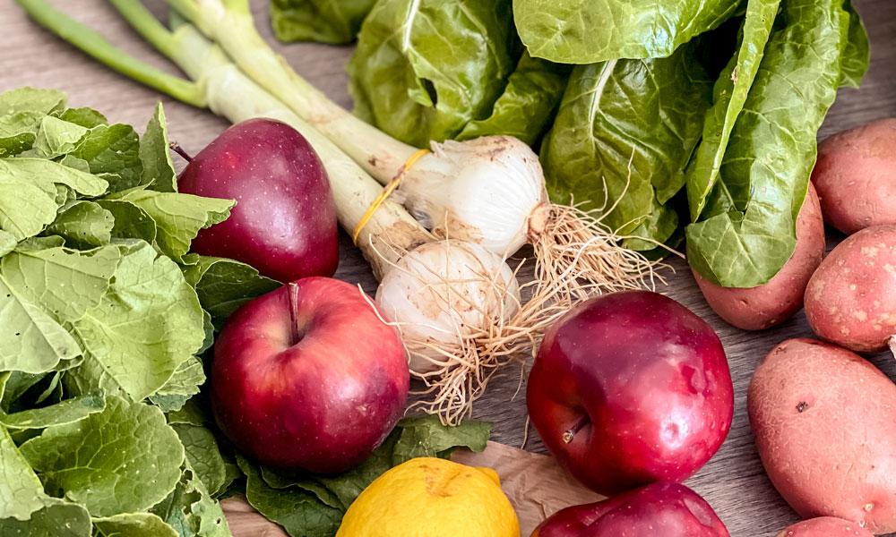 frutta e verdura biologiche