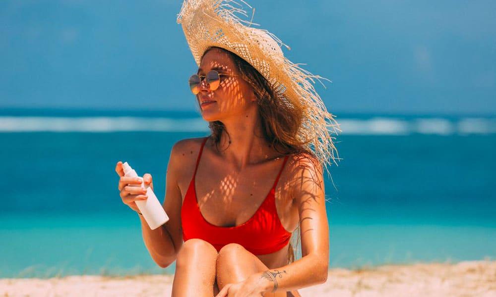 Skincare routine estiva protezione solare